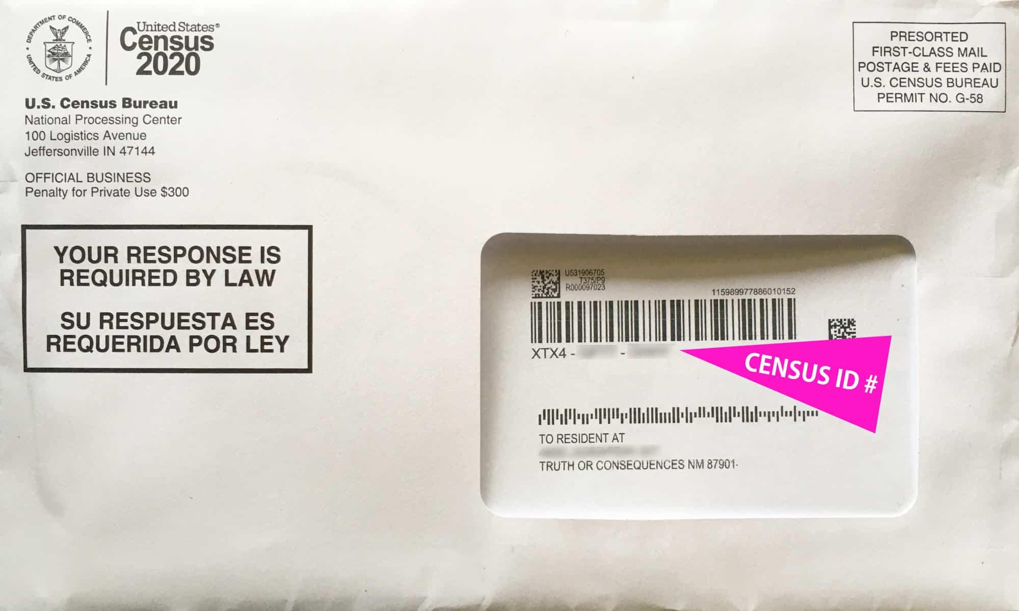 census envelope 1