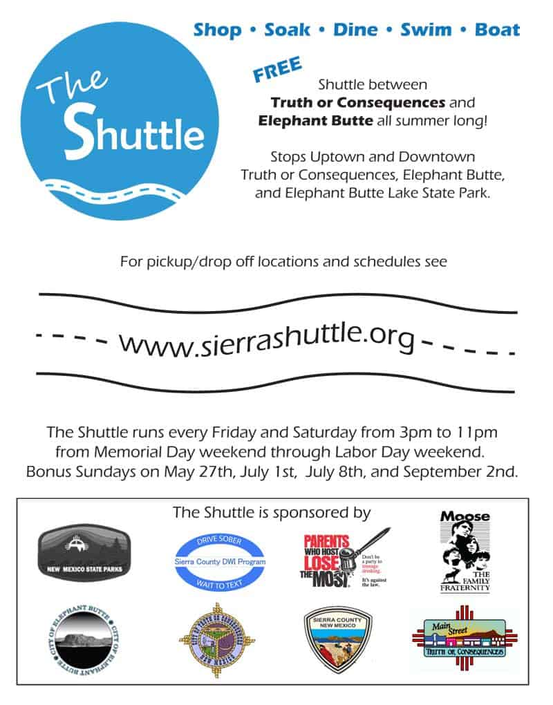 sierra county saferide - the shuttle